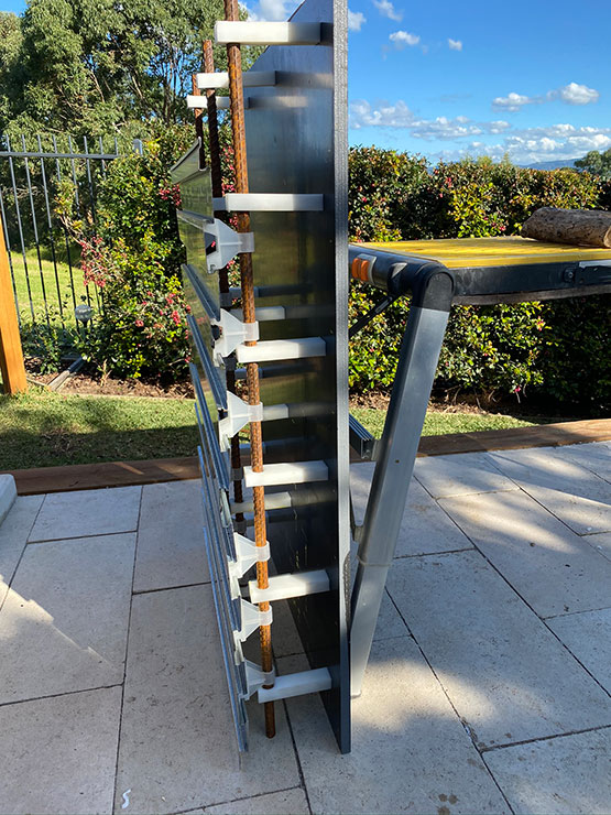 DIY Edge beam